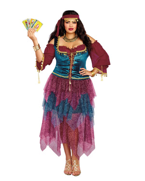 Plus Size Gypsy Women's Costume Dreamgirl Costume