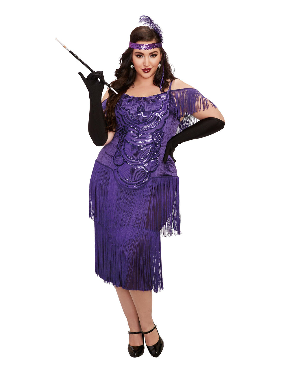 Plus Size Miss Ritz Women's Costume Dreamgirl Costume