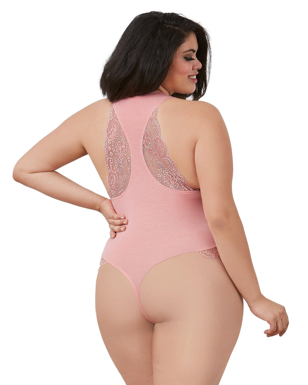 "Plus Size Soft Spandex-Jersey ""Bridesmaid"" Bodysuit Bodysuit Dreamgirl International"