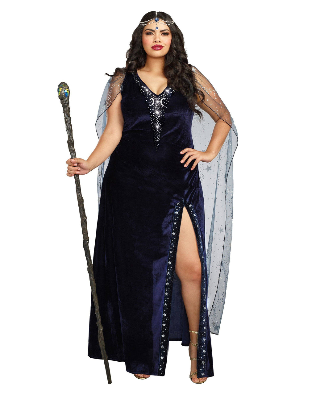 Plus Size The Sorceress Women's Costume Dreamgirl Costume