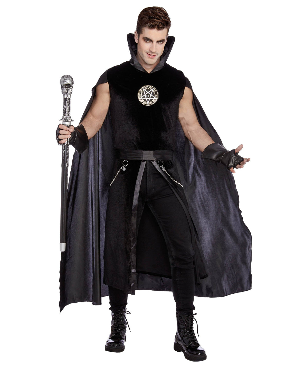 Prince Of Darkness Men's Costume Dreamgirl Costume