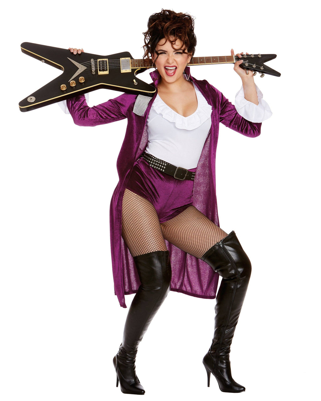 Rocker Babe Women's Costume Dreamgirl Costume