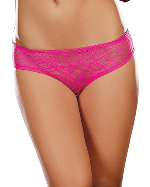 Ruffle Back Crotchless Panty Panty Dreamgirl International