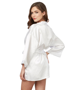 Satin Robe & Chemise Set Robe Dreamgirl International
