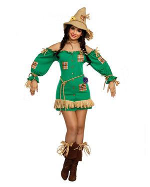 Scarecrow Women's Costume Dreamgirl Costume