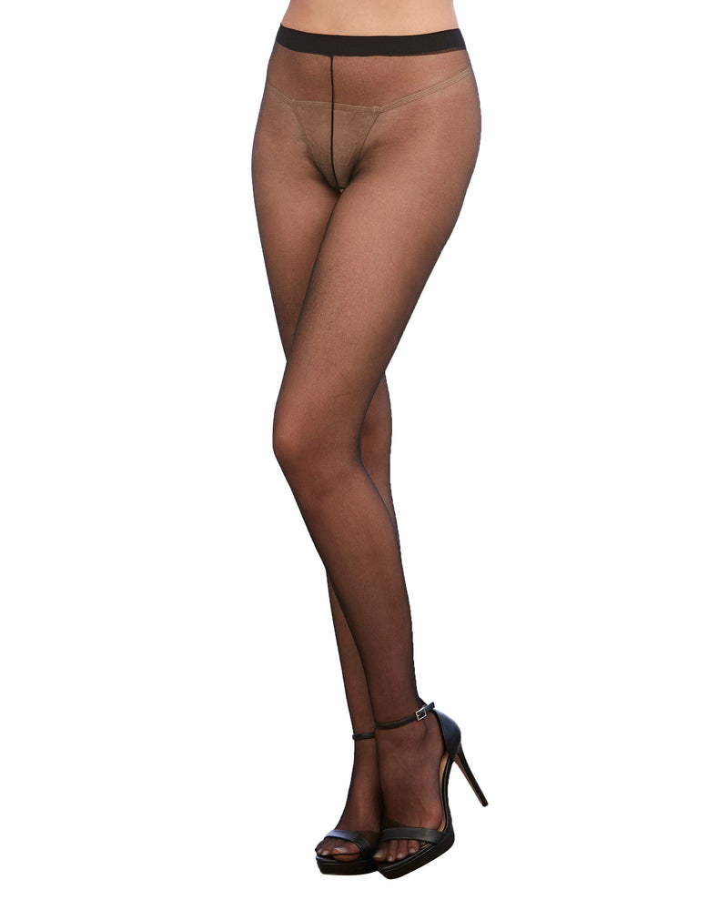 Sheer Crotchless Pantyhose Pantyhose Dreamgirl International