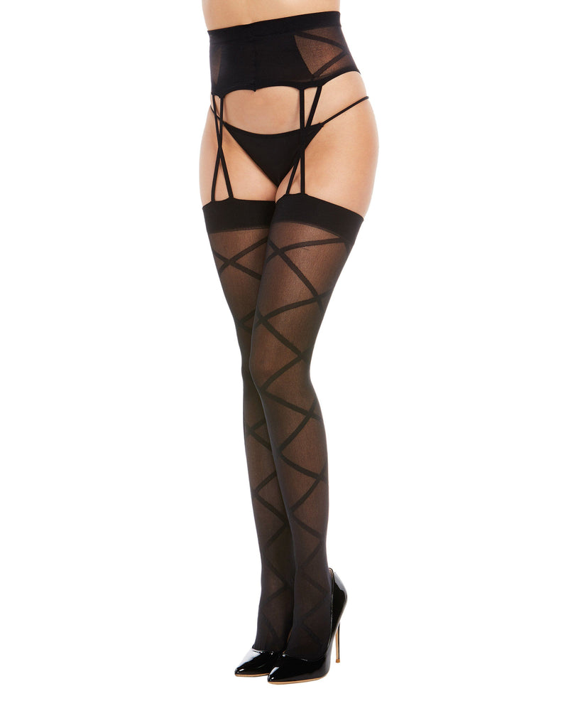 Sheer Suspender Garter Pantyhose Pantyhose Dreamgirl International