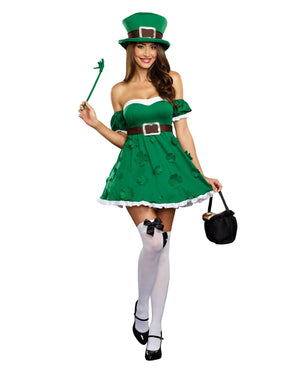 Spank Me I'm Irish Women's Costume Dreamgirl Costume