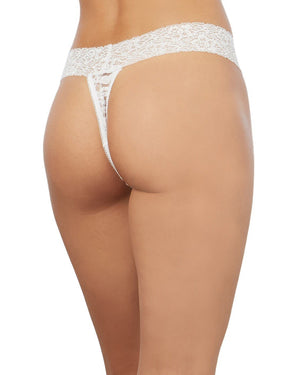Stretch Lace Low-Rise Thong Panty Dreamgirl International