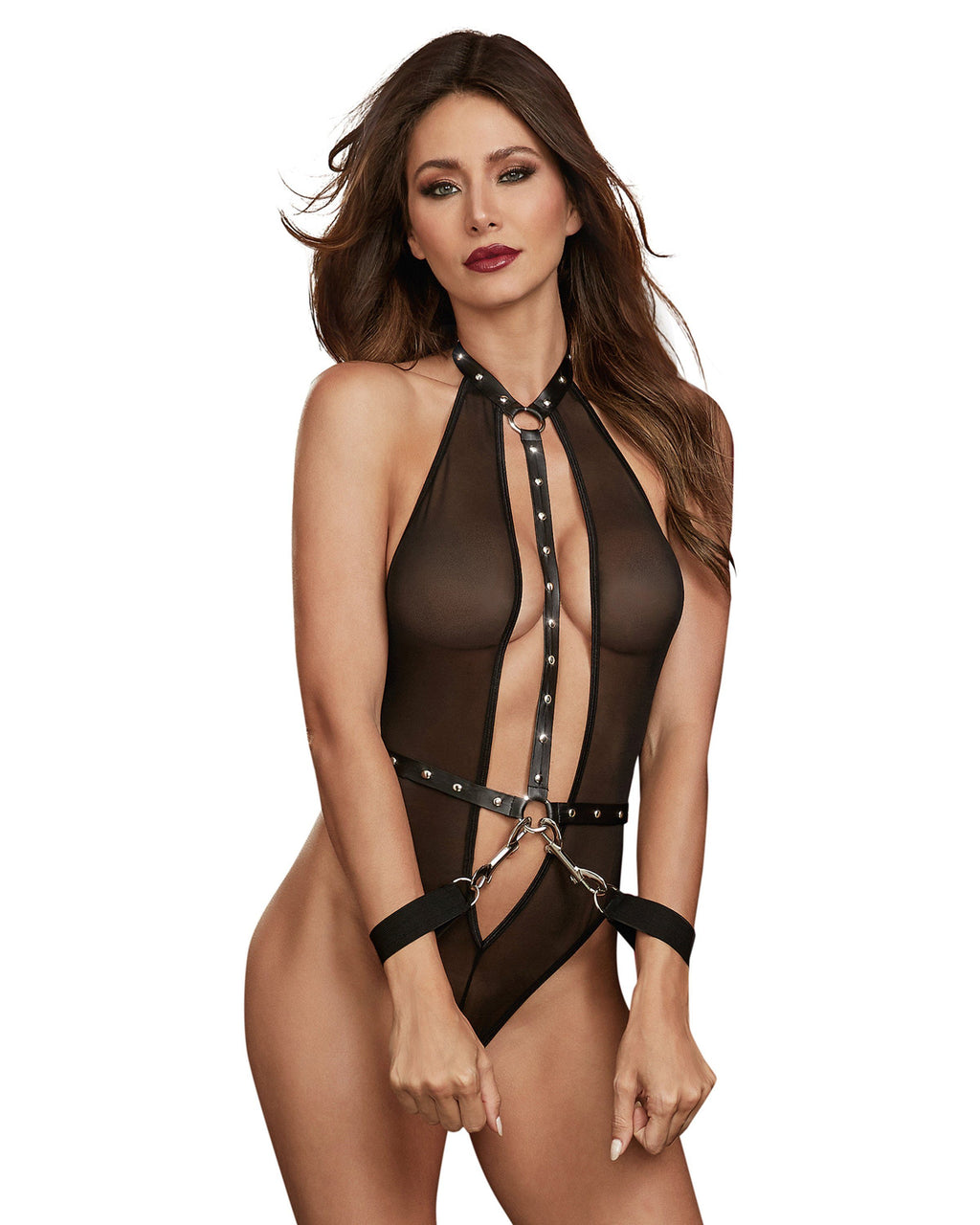 Teddy with Clasped Wrist Restraints Play Set Fetish Dreamgirl International
