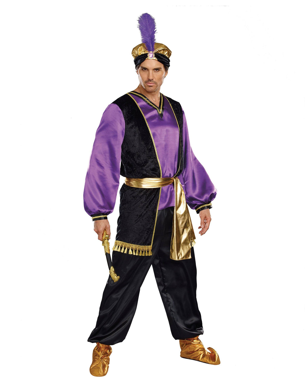 The Sultan Men's Costume Dreamgirl Costume