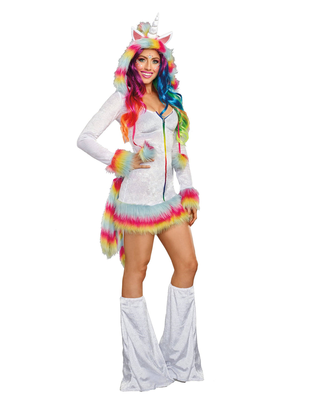 Unicorn Beauty Women's Costume Dreamgirl Costume