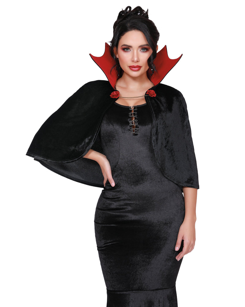 Vamp Cape Costume Accessory Dreamgirl Costume