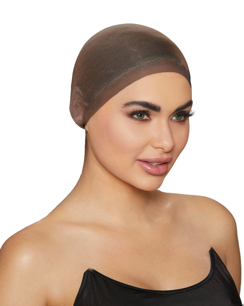 Wig Cap Wig Cap Dreamgirl Costume One Size Brown