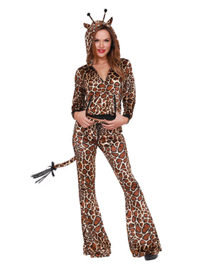 Wild Thing Women's Costume Dreamgirl Costume