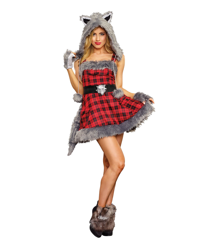 Women's Big Bad Wolf Women's Costume Dreamgirl Costume