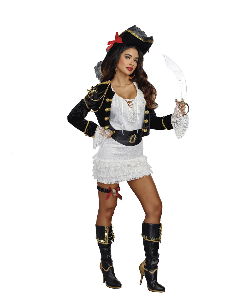 Women's Holy Ship! Women's Costume Dreamgirl Costume