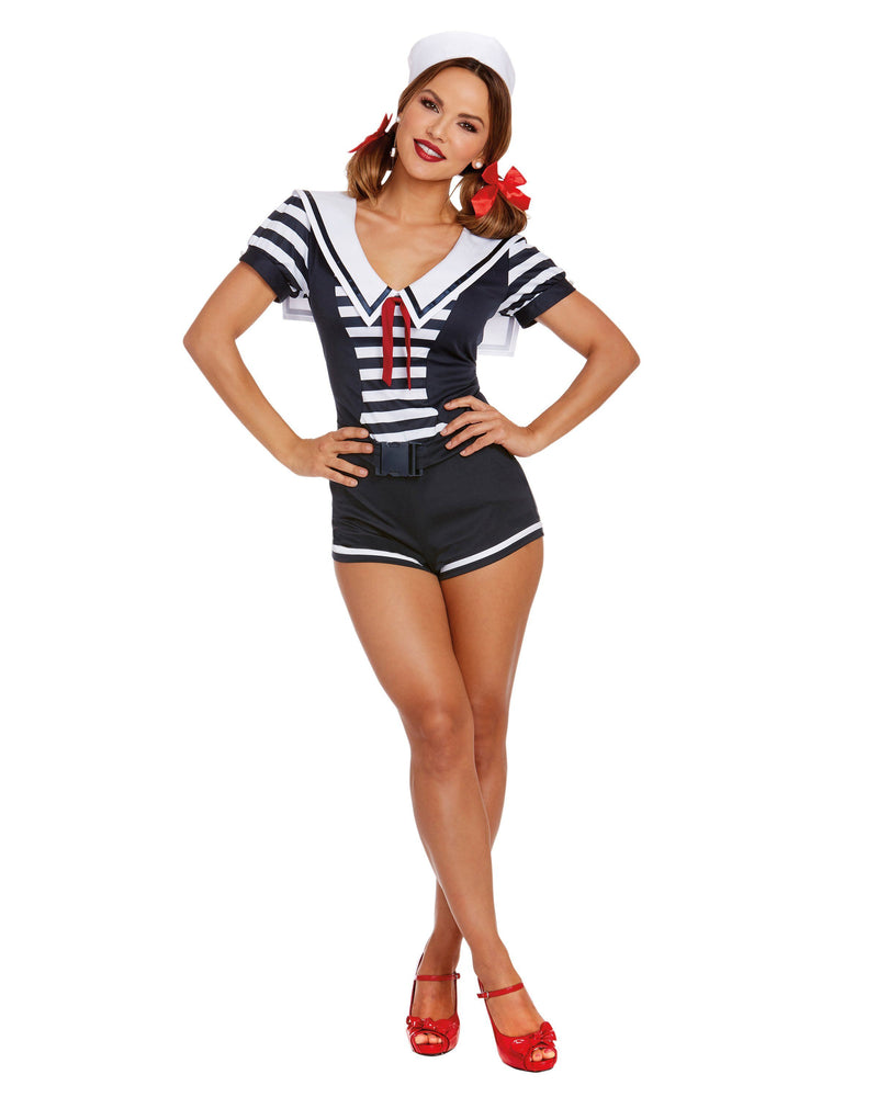 Women's Seaside Sailor Women's Costume Dreamgirl Costume