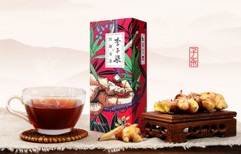buy Li Ziqi Cane Sugar Tea with Ginger Chinese Healthy Tea Product LiZiqi  food product store channel recipes Online shop cooking