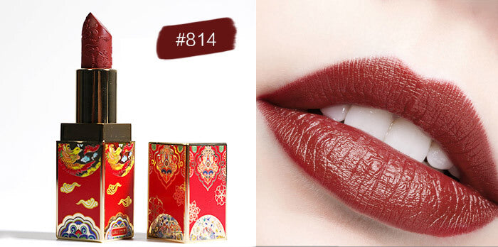 Chinese Style Lipstick Set Long Lasting Waterproof Non-Stick Cup Matte Velvet Lipstick Kit