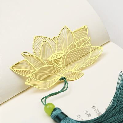 Creative Traditional Metal Leaf Bookmark Gift