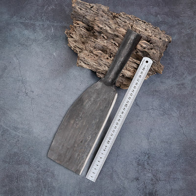 Chinese Traditional Hand-forged Kitchen Knife Chopper for Bones, Wood, Fish, Vegetables