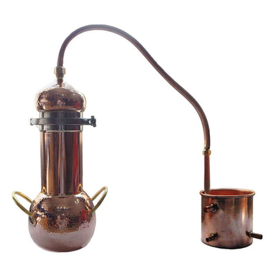 Liziqi Copper Distiller for Making Hydrosol and Essential Oil