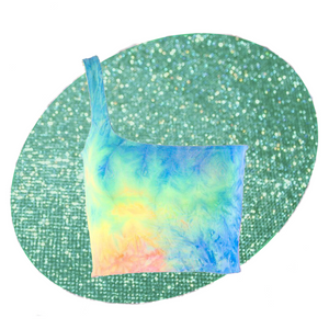 Cold Shoulder Tie Dye