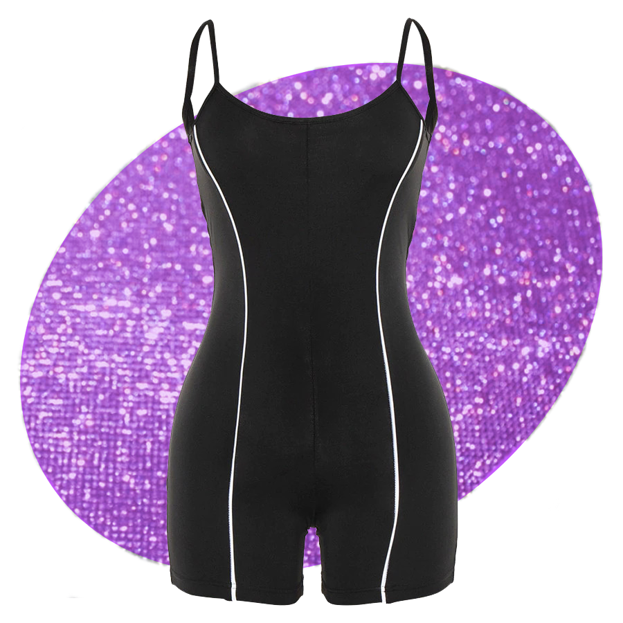 Electron Reflective Playsuit