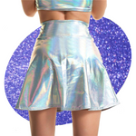 Holographic Flare Two-Piece