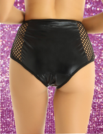 Metallic Fishnet Bottoms