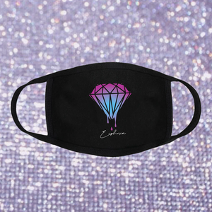 Diamond in the Rave Face Mask