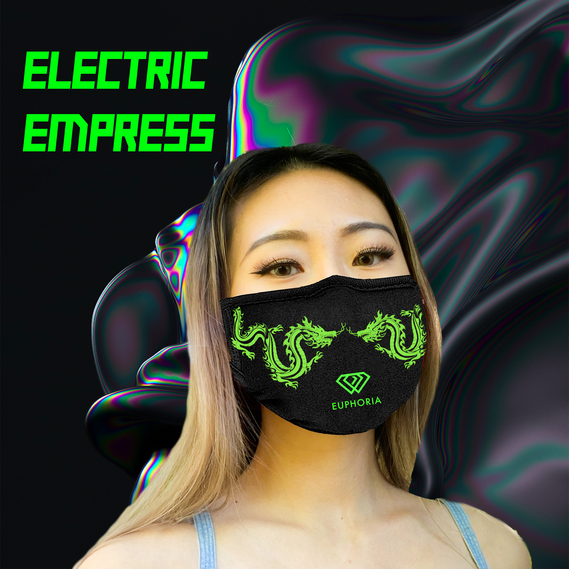 Electric Empress Face Mask