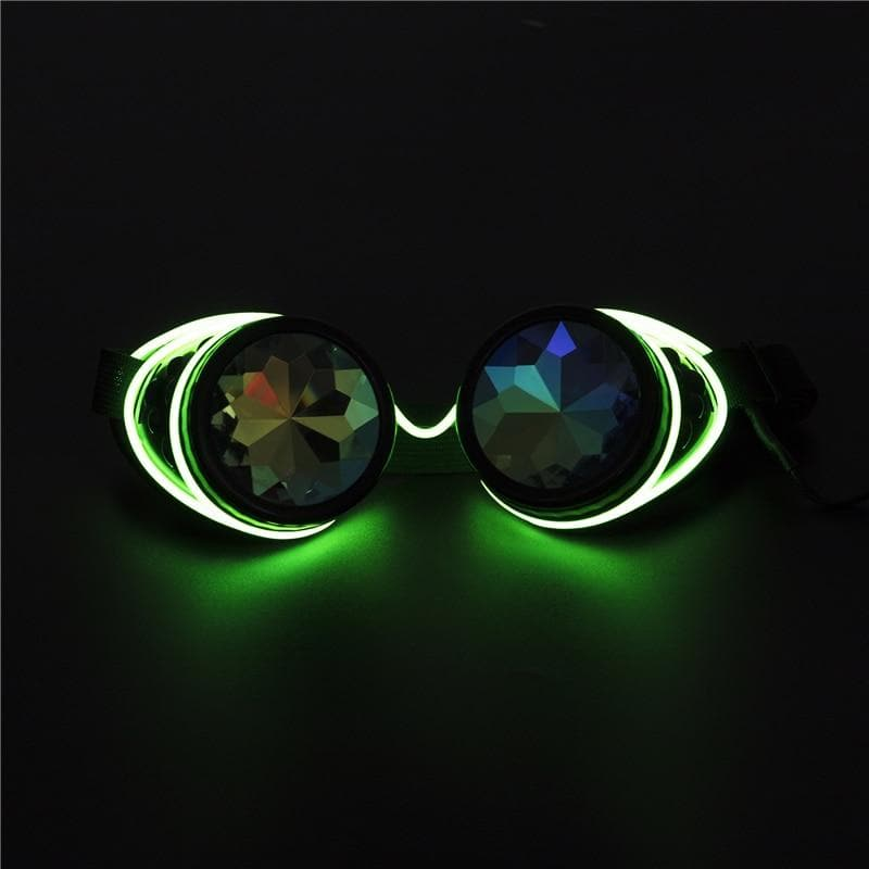 Illuminated Kaleidoscope Glasses