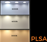 IP54 High Gloss 4 Watt LED Wall Light