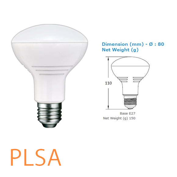 r80 dimmable led e27 lamp australia brisbane