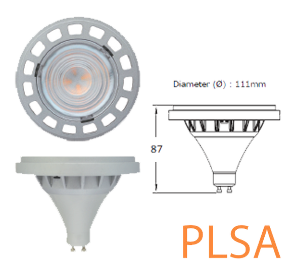 ar111 gu10 megaman australia replacement led gu10 commercial LR1815d-75H45D