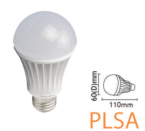 9w non-dimmable E27 (ES) daylight lamp