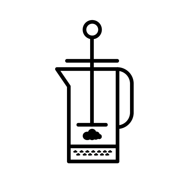 French Press Brew Guide by Cloud Picker