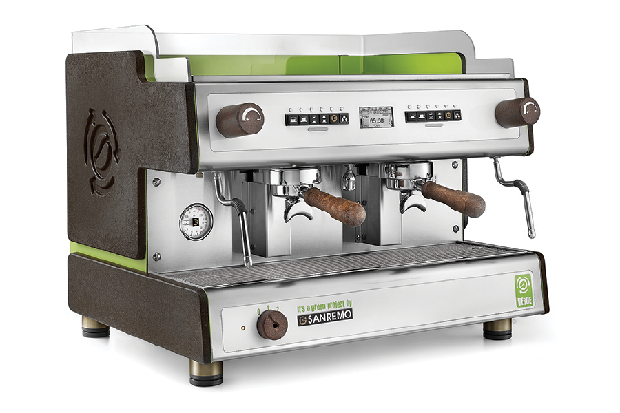 Sanremo Verde Eco Friendly Espresso Machine by Cloud Picker