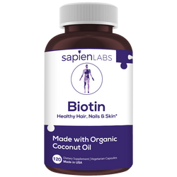 Biotin is effective for improving hair growth, clear skin and strong nails