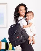 Load image into Gallery viewer, SKIP HOP FORMA PACK & GO NAPPY BAG - JET BLACK