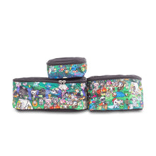 Load image into Gallery viewer, JU-JU-BE BE ORGANISED PACKING CUBES - TOKIDOKI CAMP TOKI