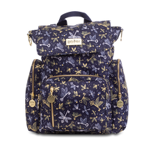 Load image into Gallery viewer, JU-JU-BE BE SPORTY CONVERTIBLE BACKPACK - HARRY POTTER FLYING KEYS