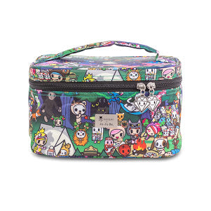JU-JU-BE BE READY MAKE-UP BAG - TOKIDOKI CAMP TOKI