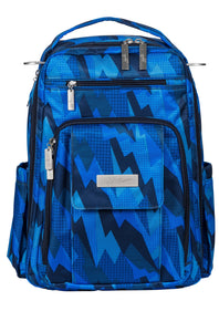 JU-JU-BE BE RIGHT BACK BACKPACK NAPPY BAG - BLUE STEEL