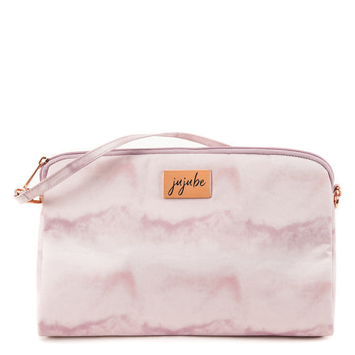 JU-JU-BE BE QUICK CLUTCH - ROSE QUARTZ