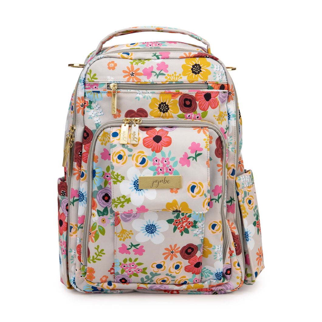 JU-JU-BE BE RIGHT BACK BACKPACK NAPPY BAG - ENCHANTED GARDEN 🌸