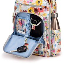 Load image into Gallery viewer, JU-JU-BE BE RIGHT BACK BACKPACK NAPPY BAG - ENCHANTED GARDEN 🌸
