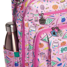 Load image into Gallery viewer, JU-JU-BE BE RIGHT BACK BACKPACK NAPPY BAG - HARRY POTTER | HONEYDUKES